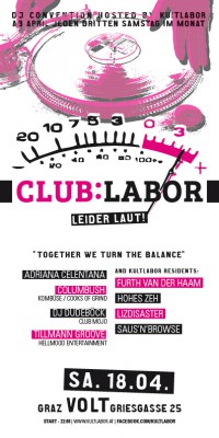 Club:Labor – Kultlabor DJ-Happening